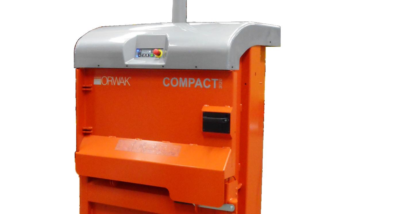 Orwak prezentuje nową belownicę Compact 3120